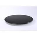 Wooden lazy Susan with black dye