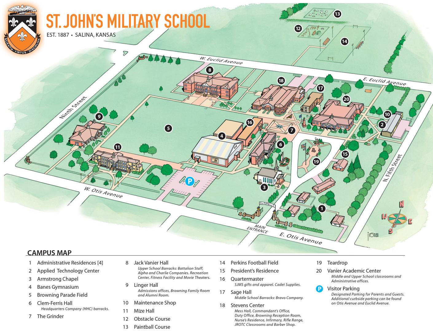 Loyola Law School Campus Map.Campus Maps