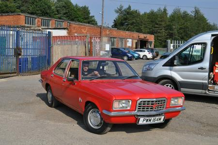 1974 VAUXHALL VICTOR FE LARGE HISTORY FILE INCLUDING ORIGINAL BILL OF SALE