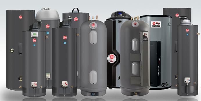 Rheem Hot Water Heaters >> Rheem Water Heaters Updraft And Power Vent Models