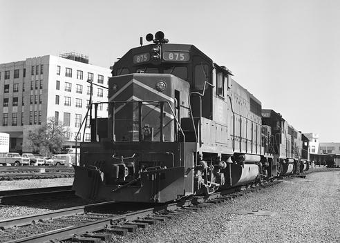 Missouri Pacific EMD GP-38-2 Diesel Electric Road Switcher No. 875.