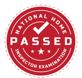 National Home Inspection Passed Seal