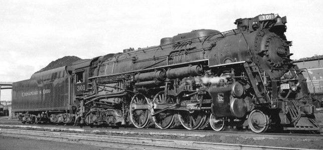 The Chesapeake and Ohio Railway's class L-2