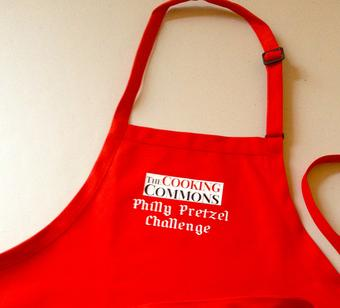 Cooking Commons culinary program apron