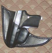 2 Point Pocket Style Gun/Mag Leather Holsters