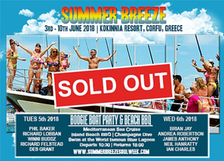 Don't miss out on the Boogie Boat Party, Summer Breeze 2018 Corfu, Greece