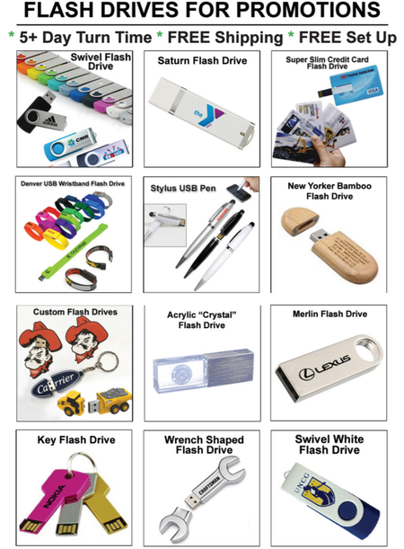 Flash Drives Promotions Catalog