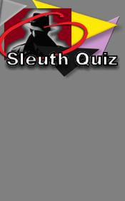 Sleuth Quiz #10 for Mysteries on the Net