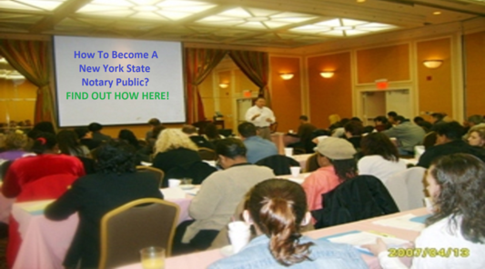 Take NY Notary Public License Class Plainview Long Island, NY