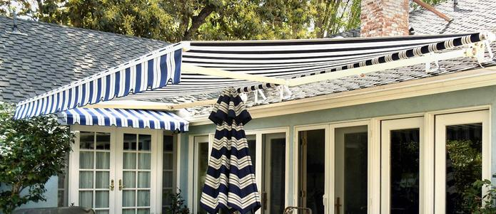 Retractable Home Fabric Awning