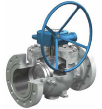 VAN BI - SUN VALVE - HÀN QUỐC ,THÉP ĐÚC - TOP ENTRY  TRUNNION BALL VALVE