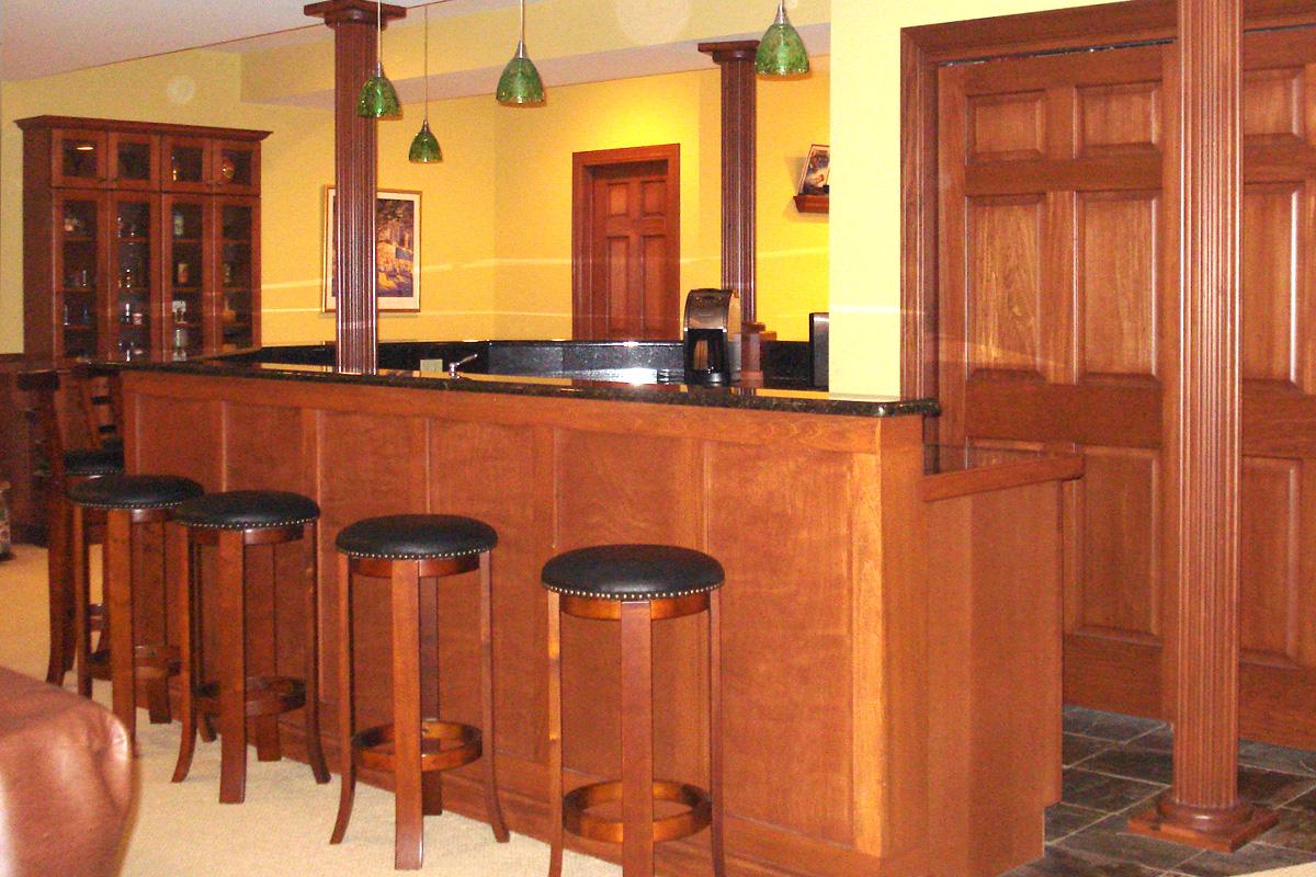 Luxury Home Bars Katona Builders