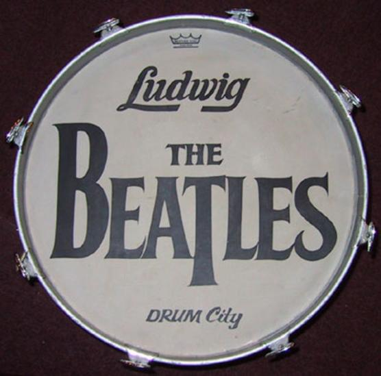 In Virtually Every Known Case Though Some Extra Promotional Graphic Was Also Painted On The Head Addition To Beatle Logo