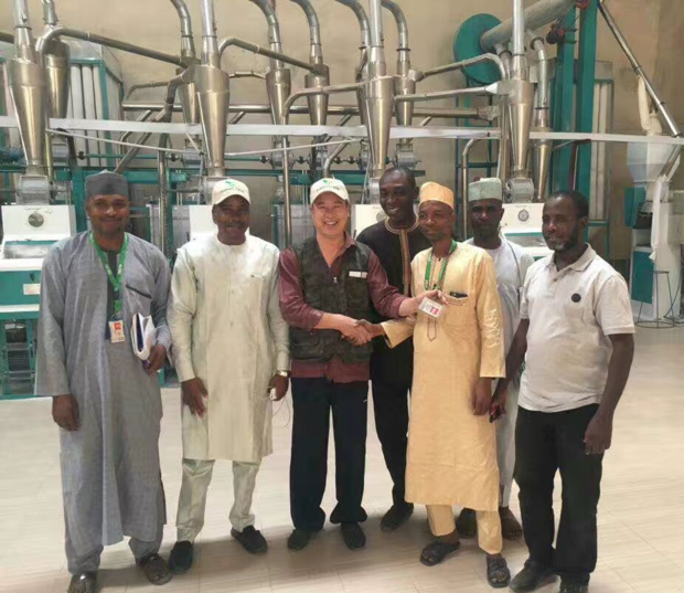30t maize milling plant in Nigeria