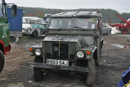 1994 LAND ROVER LIGHTWEIGHT 4X4 UTILITY DEFENDER 90 SERIES 3 INTERESTING HISTORY