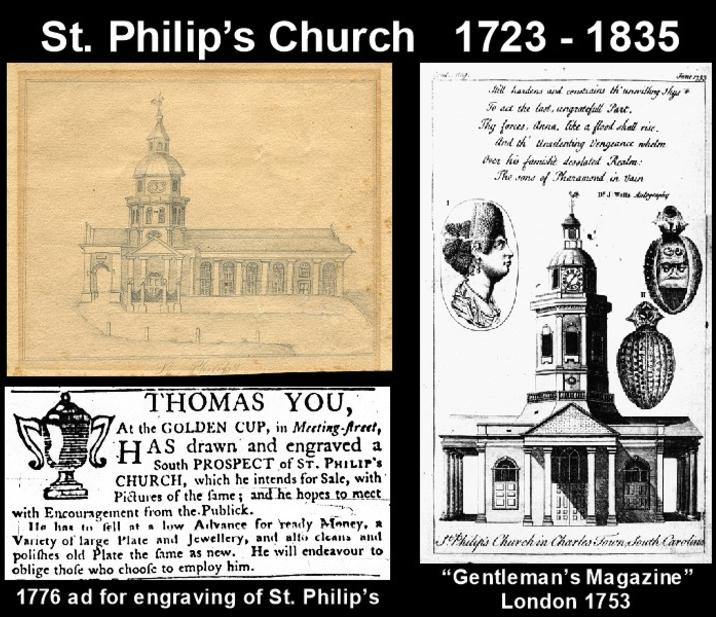 See St Philip's Church on Charleston tour