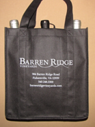 3 bottle wine bag