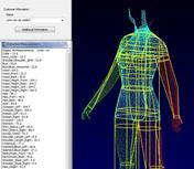 3d Body Measurements Scanner Software - Visualization