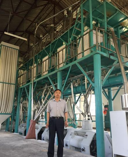 90T/24h corn flour mill machine in Gweru Zimbabwe