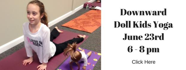 Downward Doll Kids Yoga