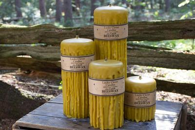 Dripped Beeswax Candles Canada