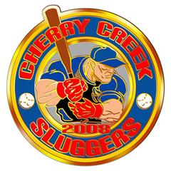 Cherry Creek Sluggers Custom Pin