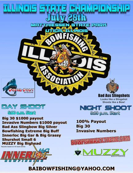 Illinois State Bowfishing Championship July 2018