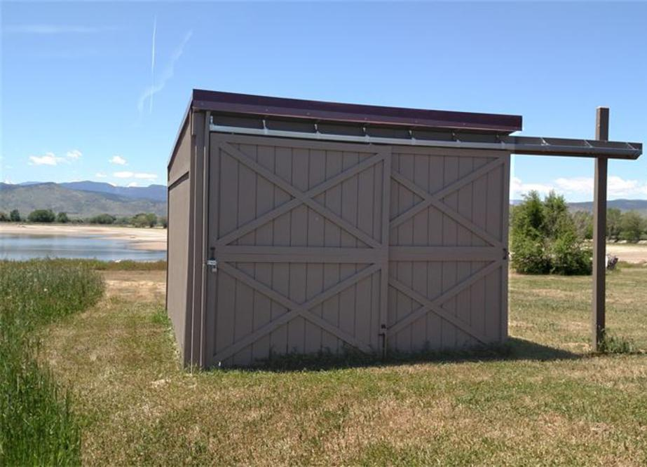 Sliding Door Storage Shed, Equipment Storage Shed, Small Shed, Yard Shed, Garden Shed, Sheds