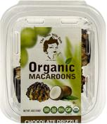 Organic Macaroons - Chocolate Drizzle