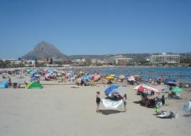 Javea with Montgo in the background