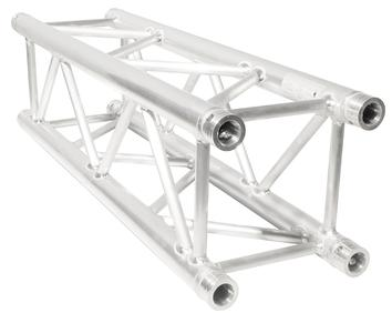 Aluminum box truss 3.3 feet long, lightweight, great for trade show booths.