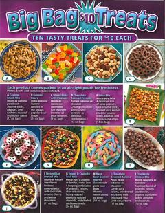 Big Bag $10 Treats Fundraiser Brochure