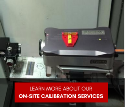 Click to Learn More about our On-site Calibration Services
