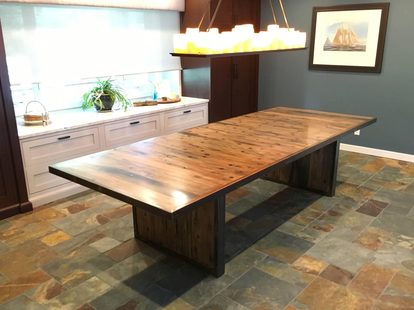 Custom made kitchen island from vintage reclaimed wood with or without - Custom Made Kitchen Island From Vintage Reclaimed Wood With Or Without 48