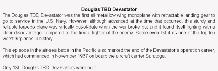 wiki background for 4D model of Douglas TBD Devastator