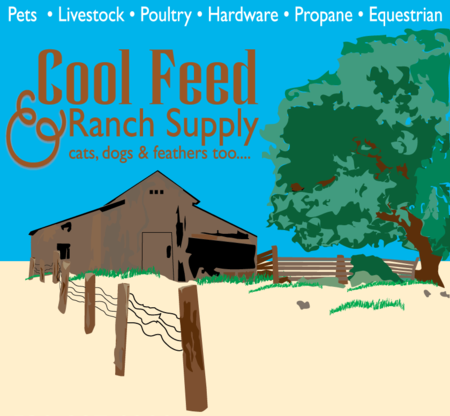 Cool Feed & Ranch Supply, Cats, Dogs, & Feathers Too
