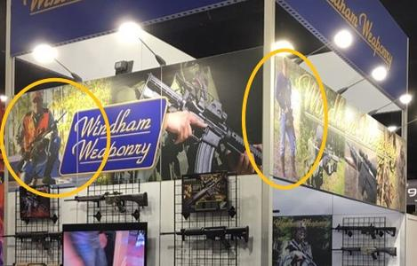 Windham Weaponry Booth NRA Show 2017