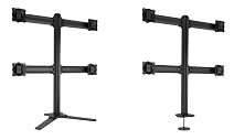 Freestanding and down monitor mounts and stands