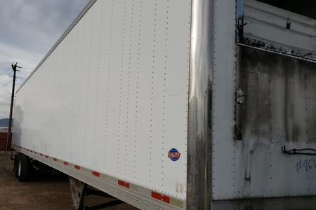 2007 48x102 Utility Trailer - Trailer Only, No Reefer Unit