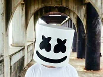 Marshmello Party Character, DJ, hire