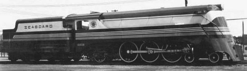 The streamlined Class P was a beauty to behold.