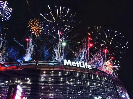Metlife stadium Fire works Limo rental