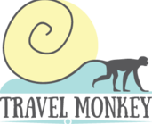 Travel monkey blogger logo link