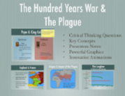 The Hundred Years War and The Plague PowerPoint