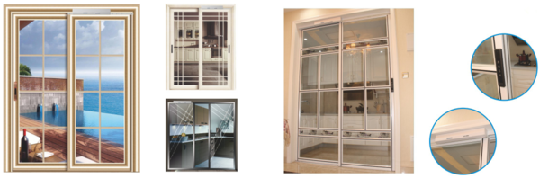 Residental electric sliding door systems