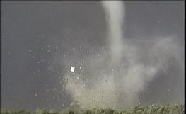 Kansas tornado hits house during storm chasing tour