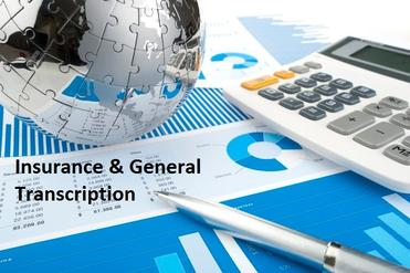 Insurance & General Transcription Services