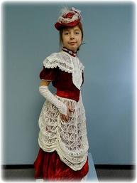 a240ea592d1e4 Victorian Era Vintage Walking Suit Girls Costume