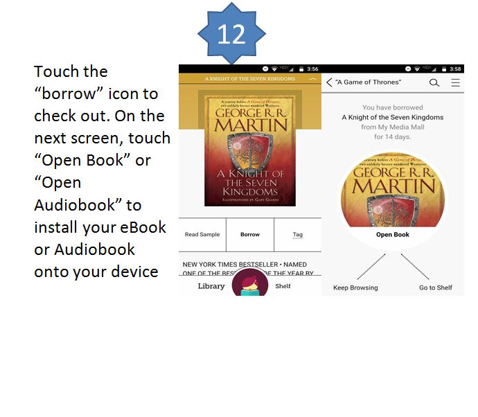 Libby By Overdrive Instructions For Ebooks And Eaudiobooks