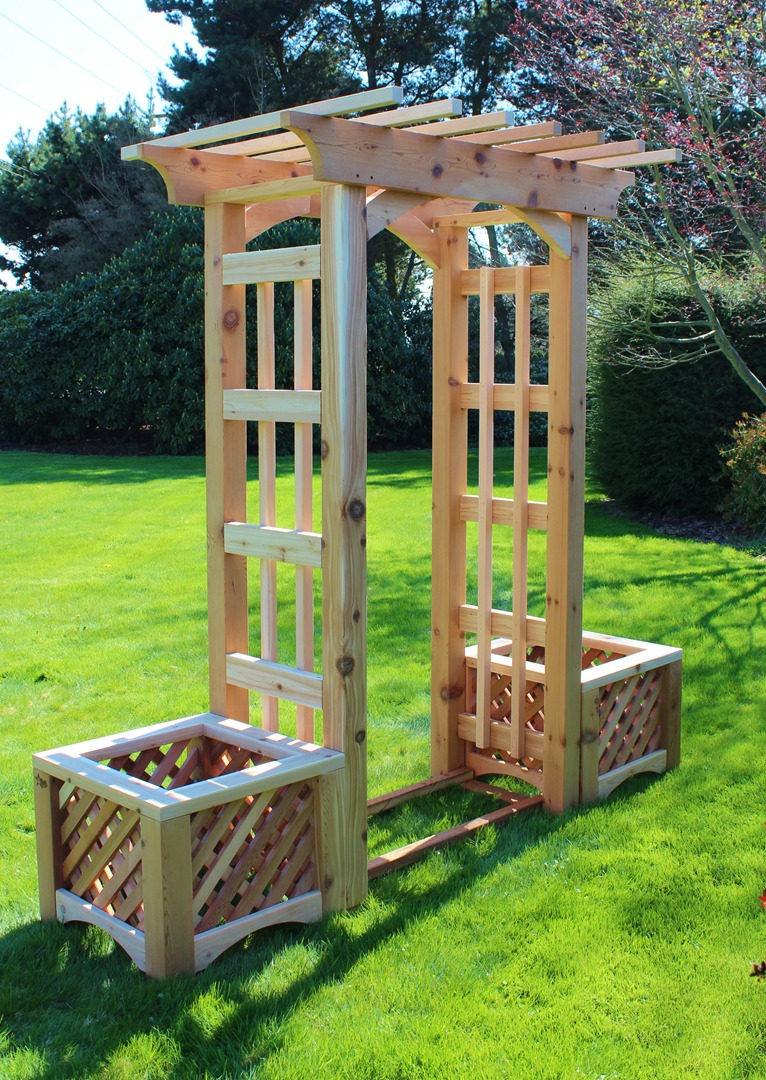Wooden Arbors Garden Arbors Dog Star Construction Sedro Woolley Wa